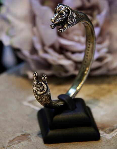 Купить регулируемый браслет ручной работы в стиле ретро с изображением