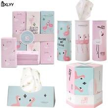 BXLYY Горячие Фламинго одноразовые бумажные полотенца автомобиля бумаги из полотенечной ткани принтованный бумажный Свадебный день рождения украшения подарок Baby Shower.7z