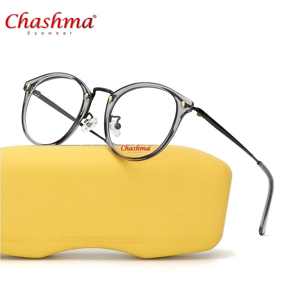High Quality Fashion Women Glasses Frame Men Eyeglasses Frame Vintage Round Clear Lens Glasses Eyewear Peoples Style Glasses