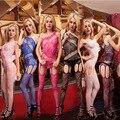 Бесплатно мешок слинг Сиамские ажурные чулки Sexy жаккардовые колготки цвета
