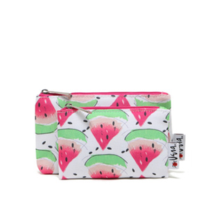 57df71b92b05 US $2.98 |1 Set.Cute Cartoon Watermelon Make up Bags.Portable Toiletry  Cosmetic Bag.Beauty Case.Day Clutch.Zipper Travel Wash Storage Bag.-in  Cosmetic ...