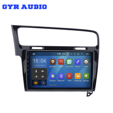 Android 5.1 Quad core 10.2″ 1024*600 Car dvd GPS stereo radio for Volkswagen golf 7 2013 2014 2015 WIFI Bluetooth Mirror Link