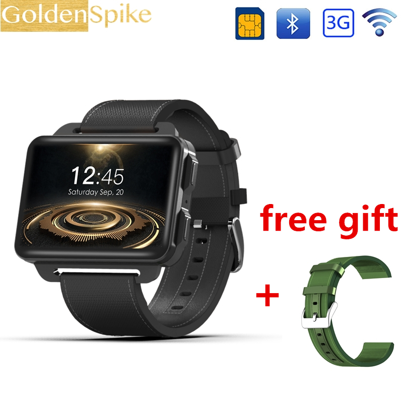 DM99 Android Smart Watch Phone Support GPS SIM Card MP4 Bluetooth WIFI Smartwatch Supper 2.2 inch Big Screen Battery 1GB 16GB