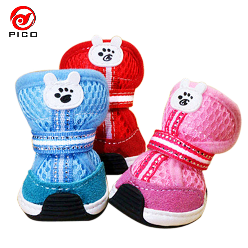 canvas Pet dog shoes teddy vip bo shoes pet shoes . 28cd9a67d4