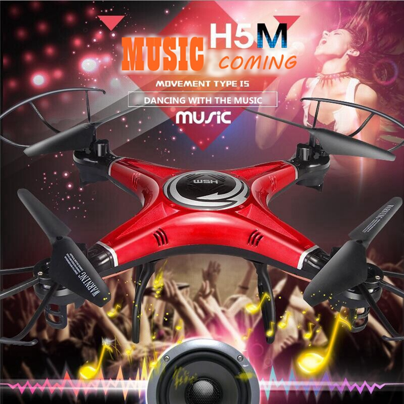 2016 NEW jjrc remote control Music Drone Quadcopter With Speaker font b Rc b font Hexacopter