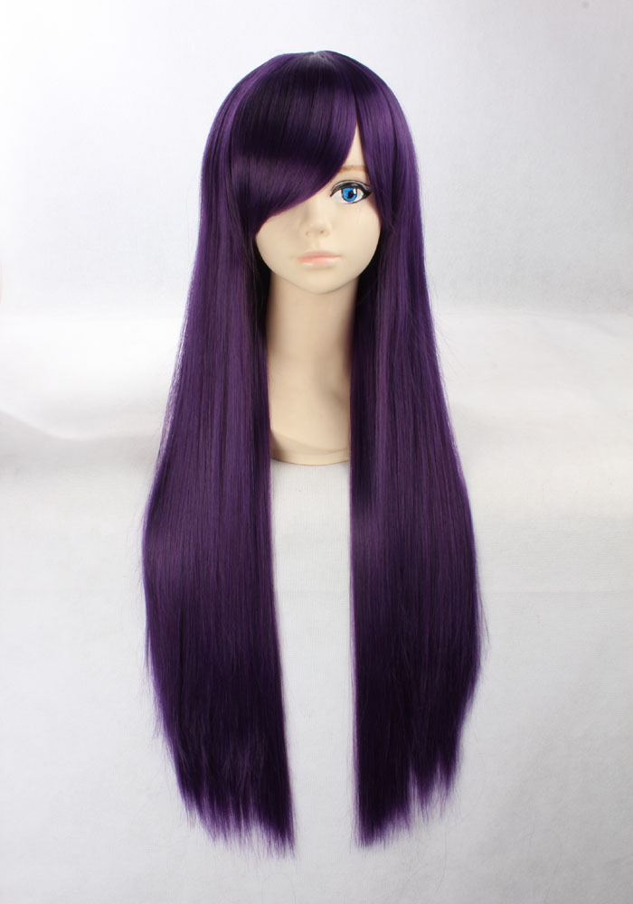 Косплей фиолетовые волосы