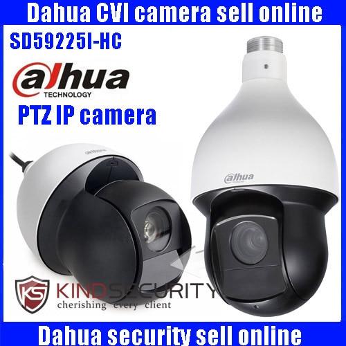 Original english Dahua DH SD59225I HCHDCVI PTZ Camera 2MP 25x Starlight IR PTZ HDCVI Camera With