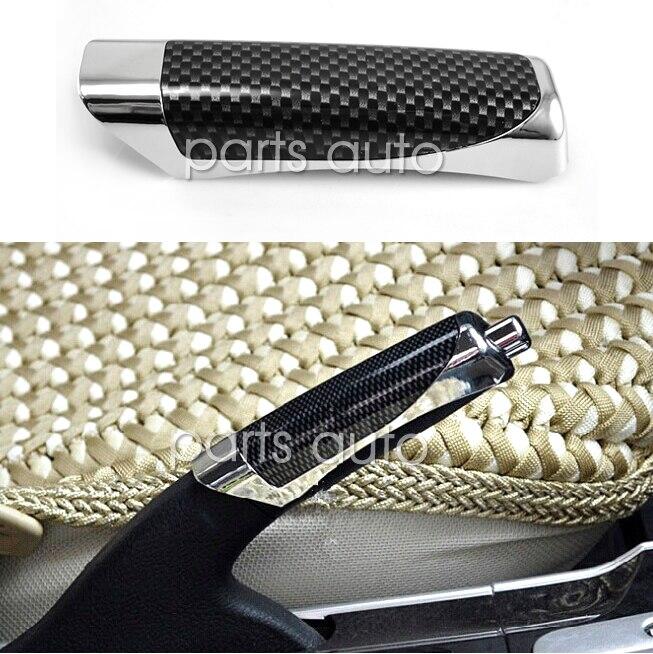 Подходит для автомобиля из углеродного волокна стиль ручной тормоз ручка защита рук Защита Крышки