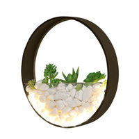 Modern 220V LED Wall Lamp For Living Room Decor Metal Wall Sconce White Bedside Lamps Round Wall Mounted Rooms Lights