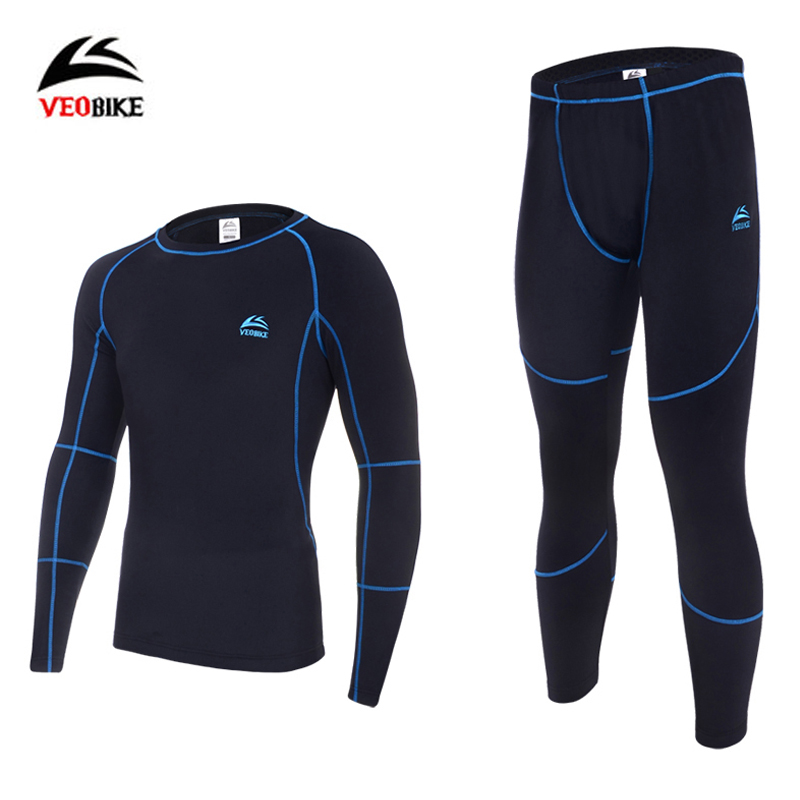 Thermal Underwear Sets 2019 New Men Winter Fleece Long Johns Comfortable Warm Thermo Underwear Thickening Breathable Tights title=