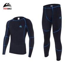 Thermal Underwear Sets 2019 New Men Winter Fleece Long Johns