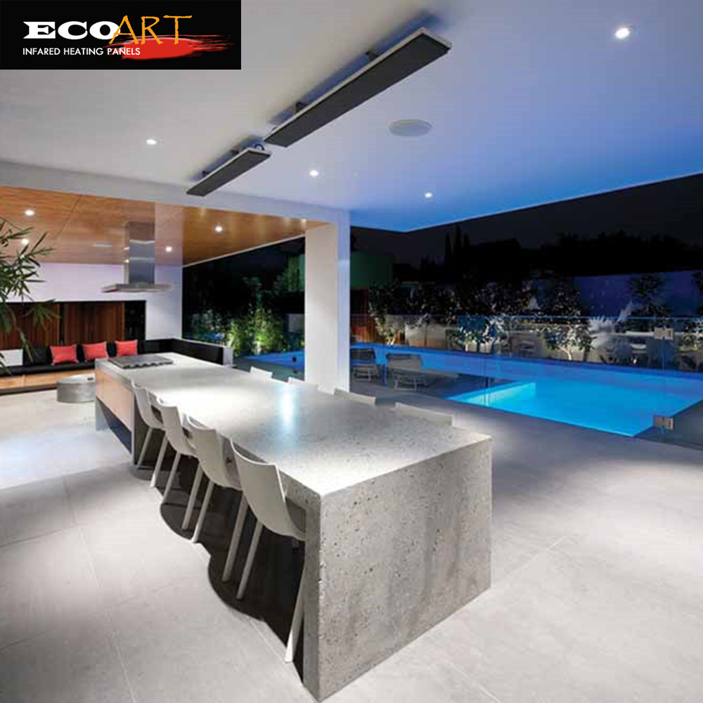 Eco Art Outdoor-Infrarotstrahler, 2400W-Patio-Heizstrahler für die - Haushaltsgeräte