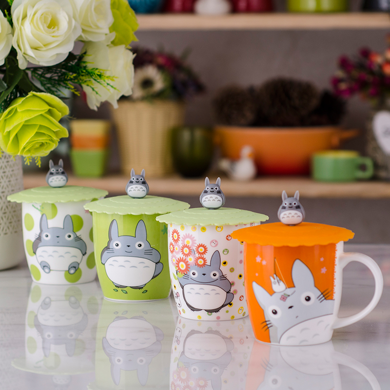 <font><b>Special</b></font> <font><b>Link</b></font> Totoro <font><b>Cup</b></font> Others Small One Style in Pink Green Orange Ceramic <font><b>Cup</b></font> Cartoon Mug