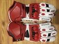 2015 GP PRO Motorcycle Alpine Racing Gloves TOP Leather Motobike Road Luvas Top Isle Of Man TT Road Moto Stars Guantes red