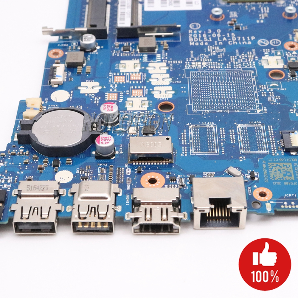 Image 4 - NOKOTION 854962 601 854962 001 Laptop Motherboard for HP 255 G5 15 BA BDL51 LA D711P 858589 601 858589 001 Main board-in Motherboards from Computer & Office