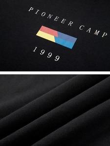 Image 5 - 파이어 니어 캠프 2020 새로운 봄 후드 스웨터 망 브랜드 의류 패션 인쇄 후드 스웨터 남성 블랙 화이트 AWY901024