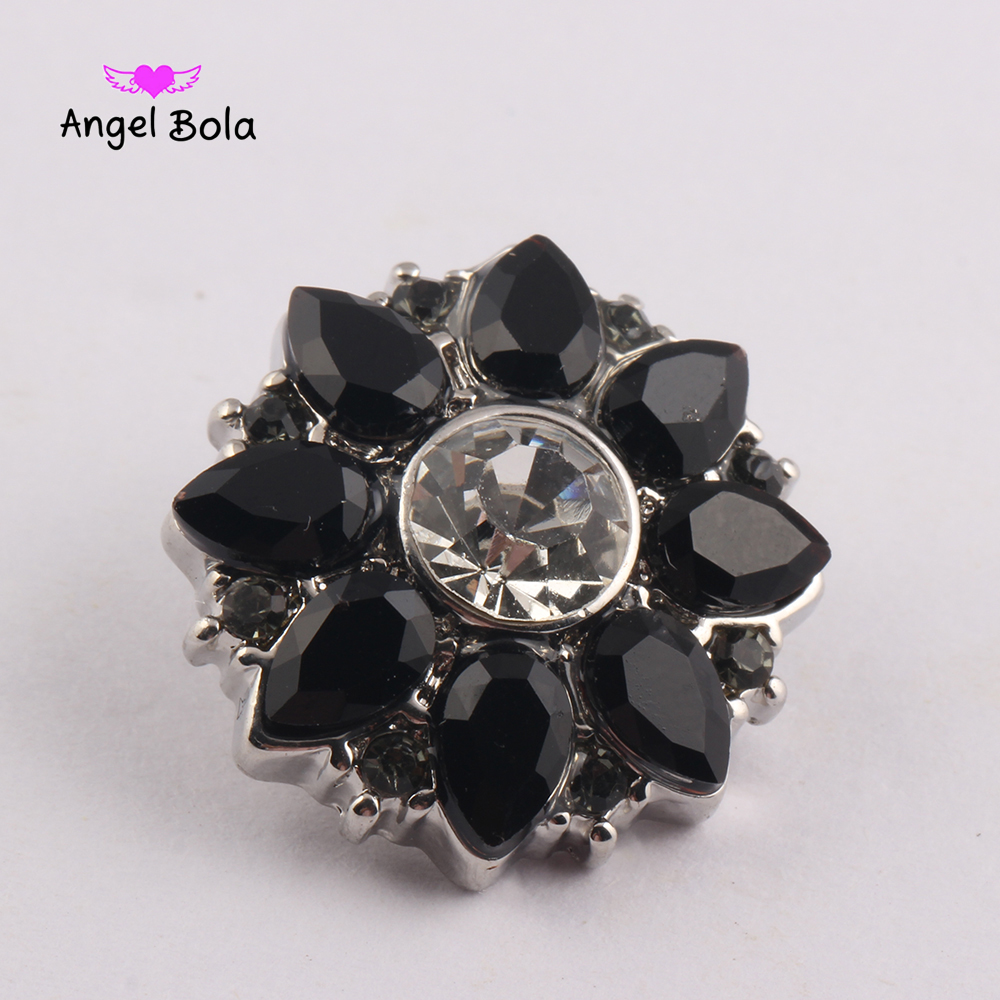Snap Charms 18mm snowflake Interchangeable Metal Charms Jewelry