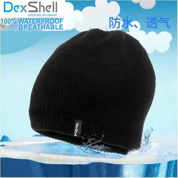 Men/women outdoor breathable coolmax wool running waterproof/windproof thermal beanie knitted hiking winter snow sport cap/hats