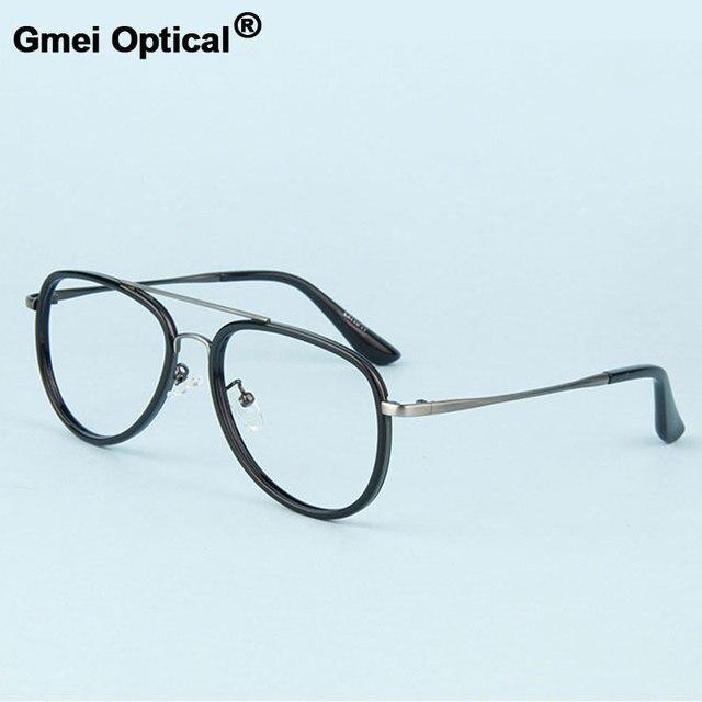 Gmei Optical Miopia Liga de Metal Do Vintage Decoração Óculos Ópticos Quadros  Homens Mulheres Óculos Oculos 6584f2751e