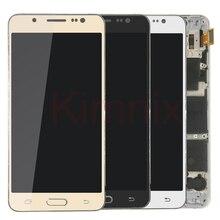 Для Samsung Galaxy J5 2016 j510 ЖК-дисплей Дисплей Сенсорный экран J510FN J510F J510M J510H/DS Экран отрегулировать Яркость Frame Корпус