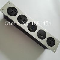 2018 high quality Factory direct sale multifunctional information socket Multimedia rj45 HDMI USB 3.0 wall socket 5pcs/set