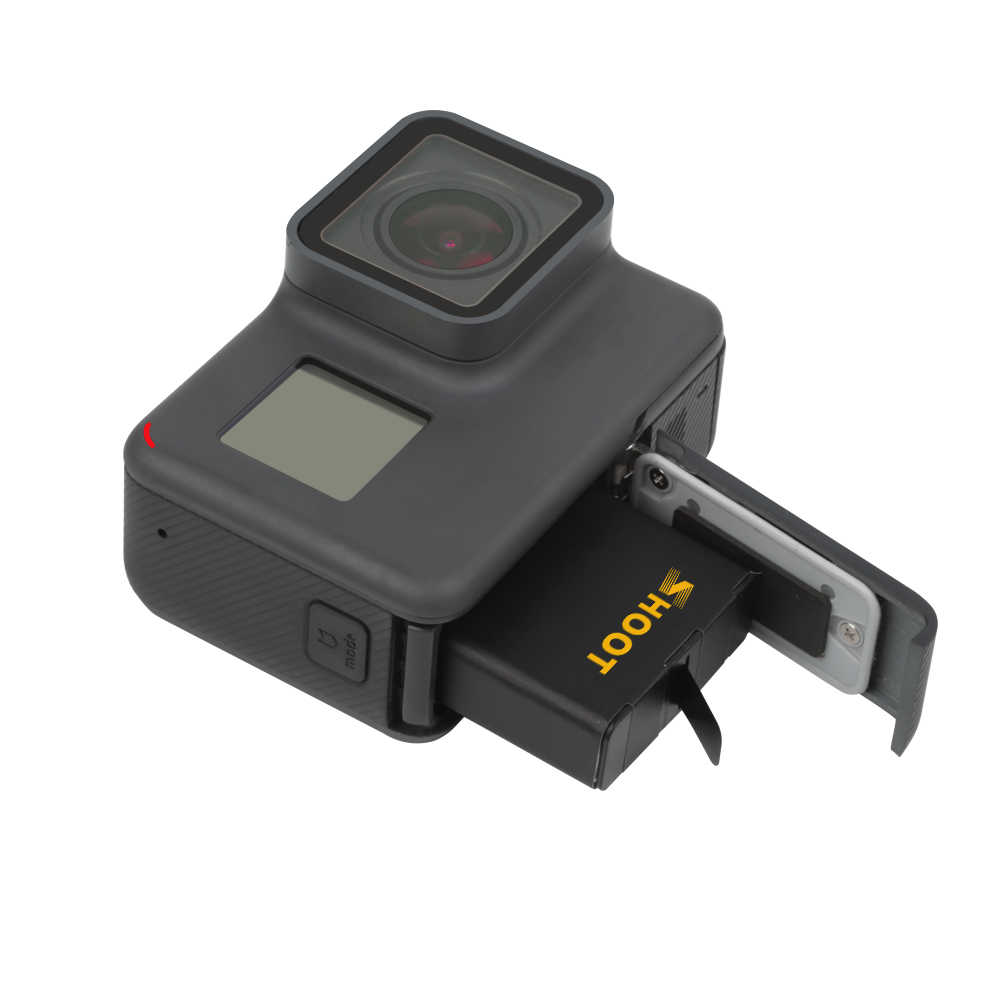 تبادل لاطلاق النار AHDBT-501 البطارية مع ثلاثة/المزدوج منافذ شاحن يو اس بي ل GoPro بطل 7 6 5 الأسود عمل كاميرا ل الذهاب برو 7 6 5 ملحق