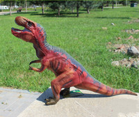 70cm Soft Rubber Tyrannosaurus Rex Model Toys Simulation Dinosaur Decoration Children 's Educational Toys New Year Gifts