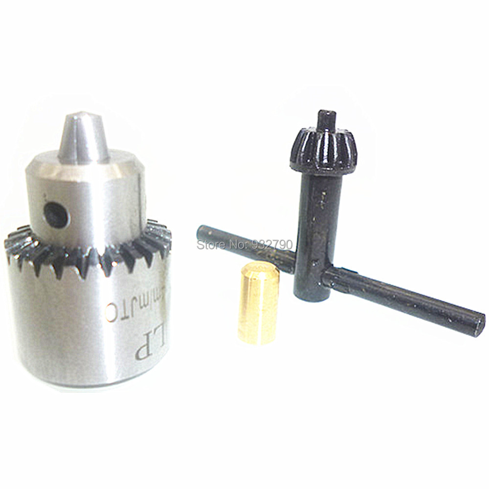 0-3MM High Precision Keyless Drill Chuck  with Taper Mounted JT0
