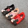 Niños playa Sandalias Mickey Minnie niños del niño del bebé niña de cristal jalea calzado zapato olor dulce estilo mini melissa