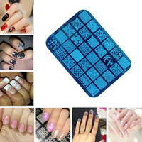 10PC XY21 30 Series Decoration Designs Nail Art Image Nail Art Design Stamp Stamping Plates Manicure