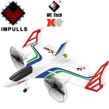 IMPULLS wltoys  X420 Airplane 6-axis gyroscope Brushless trick Remote Control Use By EPP Material FSWB