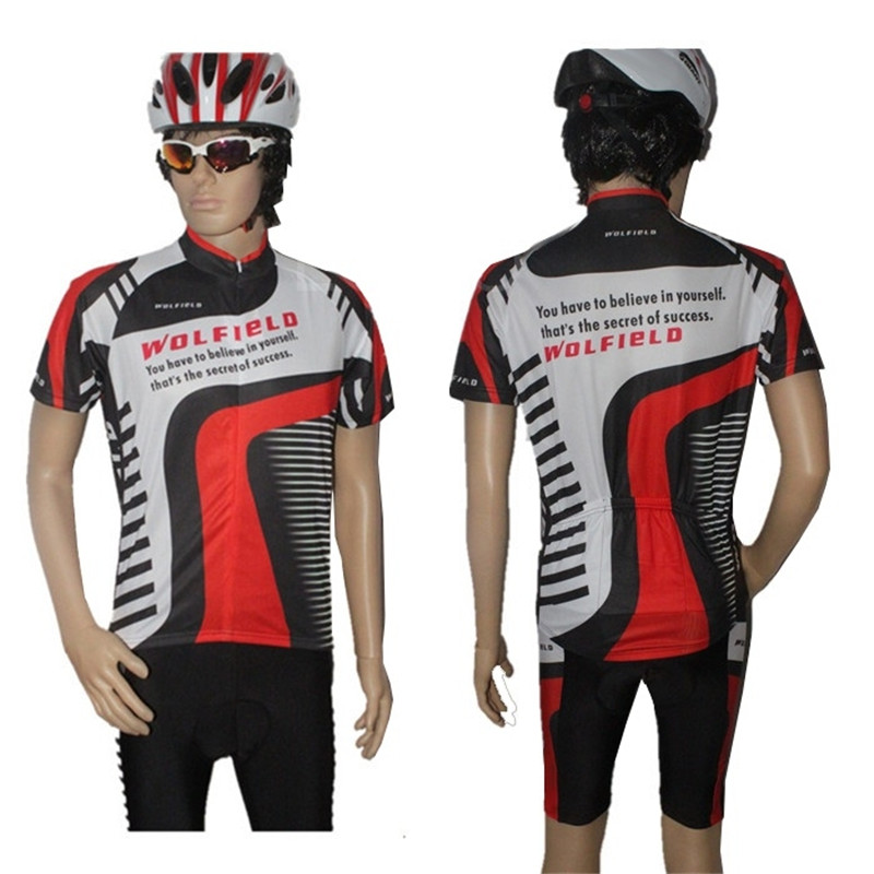 Fashion New Summer Cycling Bicycle BIKE 5 Sizes Comfortable  Outdoor Jersey+Shorts For Outdoor Camping Bicycle