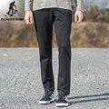 Pioneer Camp 2017 new  pants for men autumn black  pants slim fit modal sweat pants mens  pants 522178