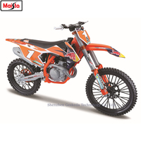 Maisto 1:6 KTM Red Bull NO1 authorized simulation alloy motorcycle model toy car Locomotive model car decoration