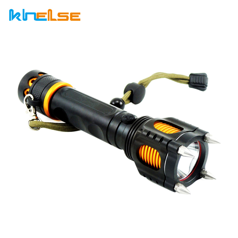 flashlight 18650 5-Mode cree-xm-l t6 self defense led glare Multi-functional rechargeable torche flashlights zk35 cree xm l2 4500lm 5 mode flashlight torch led flashlight self defense lamp rechargeable with 18650 battery for outdoor