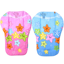 Baby Stroller Seat Cushion Full Cotton Thickening Baby Carriage Umbrella Cart Trolley Cartoon Cushion Baby Stroller Accessories