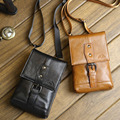 New High Quality Genuine Leather Cell Mobile Phone Case Men Fanny Waist Hook Pack Messenger Shoulder Cross Body Belt Hook Bag