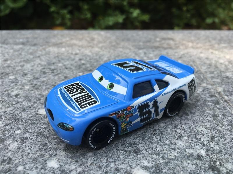 Kk01 Original Pixar Car Racers 1 55 No 51 Easy Idle Metal Diecast