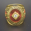 New Fashion Gold Plated Vintage Gold 1946 St Louis Cardinals baseball championship ring size 11 US fan collectable