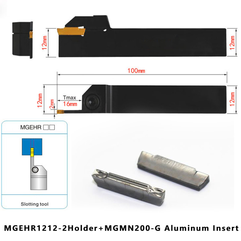 10P MGMN150-G K10 CNC Lathe Grooving Carbide insert Turning Tools  for Aluminum