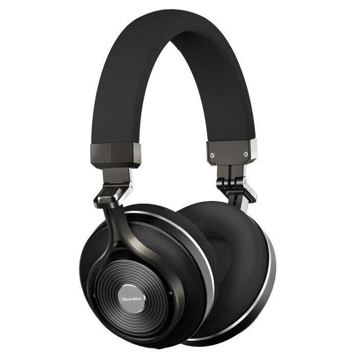 Bluedio T3.4.1 casque stéréo sans fil Bluetooth (noir)