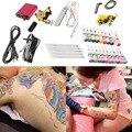 Equipo profesional 1 Unidades 90 V-264 V Completa Tatuaje Ametralladora 20 Tintas de Color Del Tatuaje Máquinas Arma del Equipo tatuaje Conjunto Caliente
