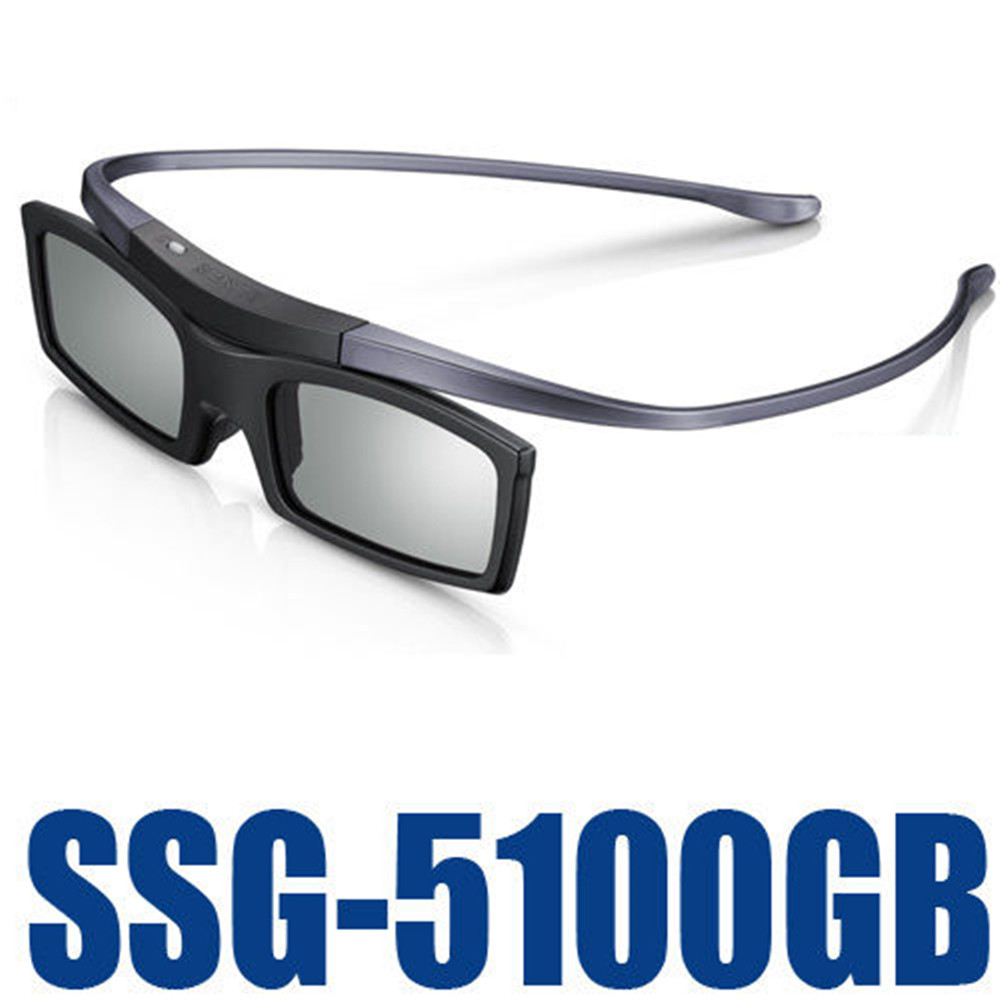 New Official Original Bluetooth 3D Shutter Active Glasses for Samsung SSG-5100GB 3DTVs Universal TV cardboard Free Shipping(China)