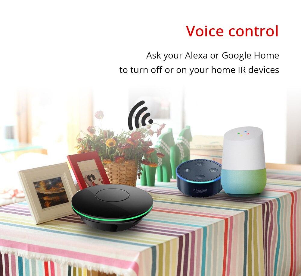 Zemismart IR puente aire ventilador TV para vida inteligente App de Google Alexa eco Control remoto Universal