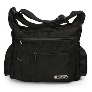 Image 4 - 2020 erkekler spor omuz çantaları su geçirmez Crossbody çanta eğlence Oxford kumaş rahat seyahat adam askılı çanta