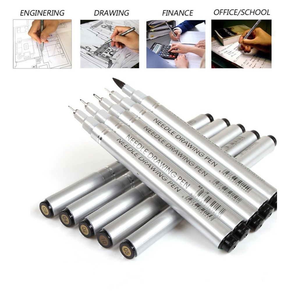 Professional Sketch Micron Pen Needle Drawing Pen Fine Liner Drawing Manga Anime Marker New Art Markers Brush Pen