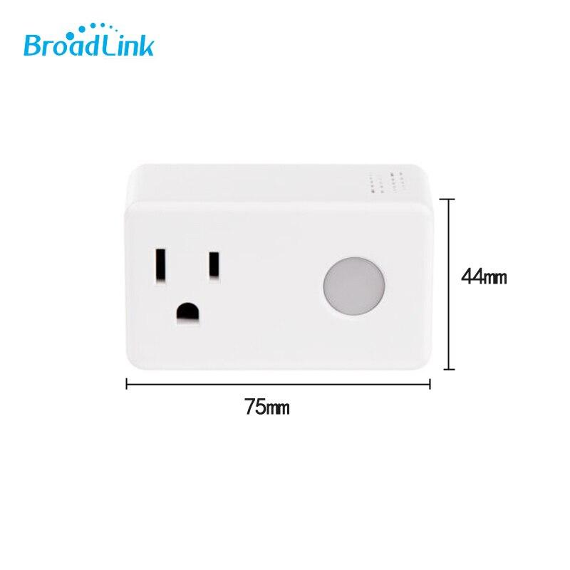 Broadlink timer plug SP3 SPcc WiFi remote Smart Power Socket with memory functio