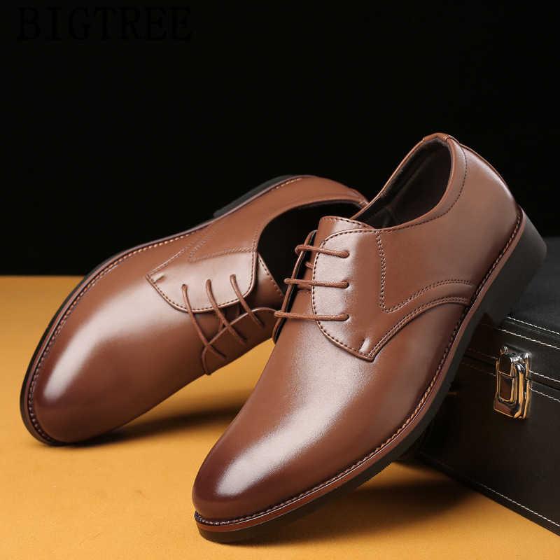 Oxford รองเท้าสำหรับบุรุษรองเท้าผู้ชาย classic coiffeur อย่างเป็นทางการรองเท้าหนังผู้ชายหรูหรายี่ห้อ zapatos de vestir hombre buty