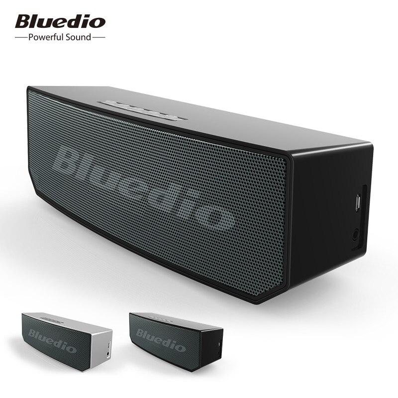 BS-5 Bluedio Mini speaker Bluetooth Wireless speaker Portátil Sistema de Som 3D estéreo surround de Música para telefones