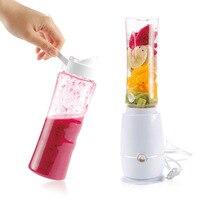 1 Pc Électrique Presse-agrumes Portable Mini Jus De Fruits Mélangeur Boisson Bouteille Smoothie Maker Juice Blender Cuisine Outils UE Plug